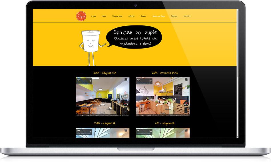 Spacer Wirtualny na stronę internetową